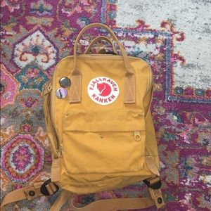FJALLRAVEN KANKEN MINI YELLOW USED